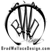 Brad Wallace Design Logo